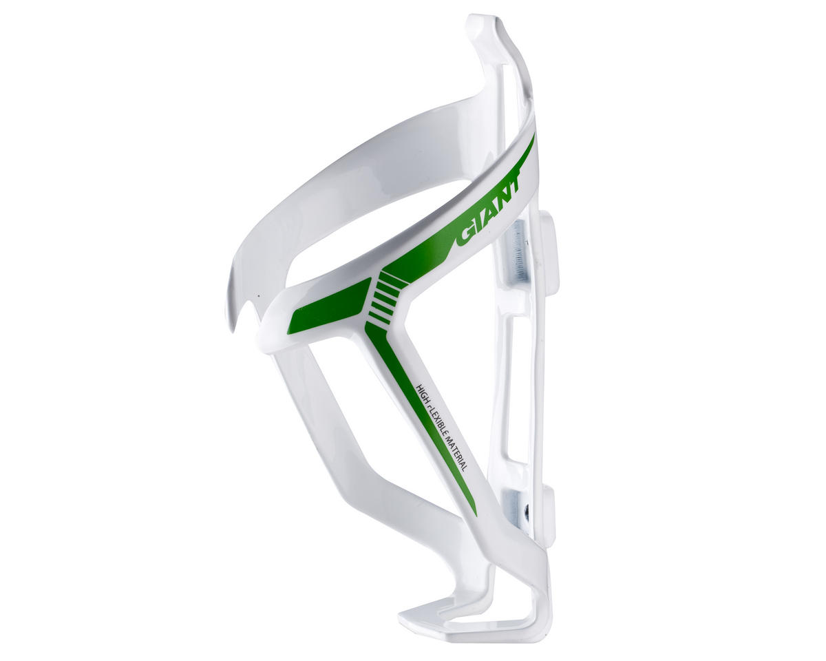 Giant ProWay Water Bottle Cage (White/Green)