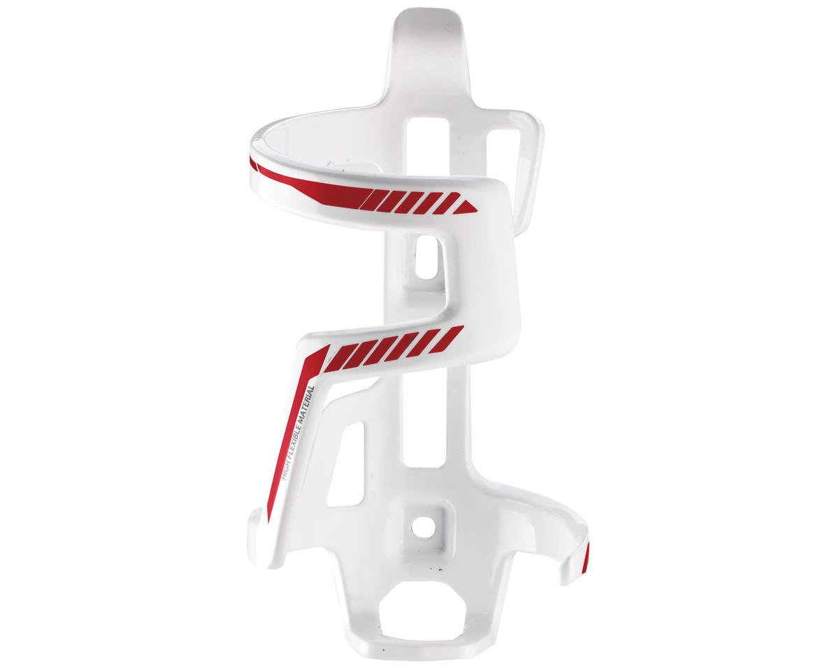 Giant ProWay Side-Pull Water Bottle Cage (Right) (White/Red)