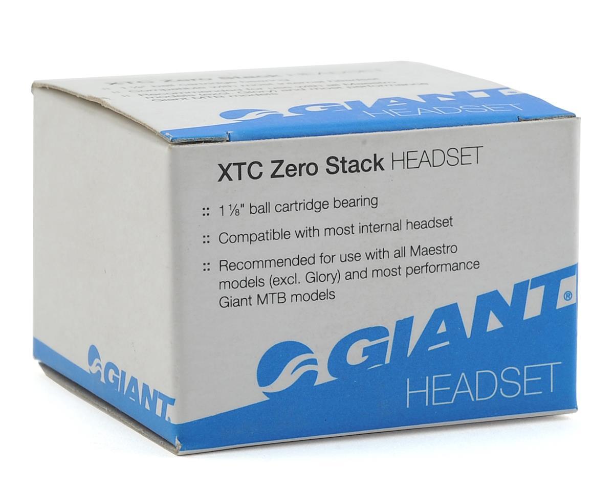 Giant XTC Zero Stack Headset 1 1/8 (Black)