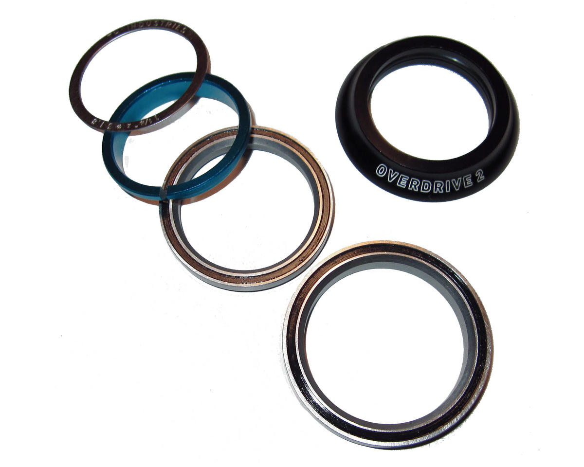 """Giant OD2 Tapered Road Headset 1-1/4"""" to 1-1/2"""" (12+) (Black)"""
