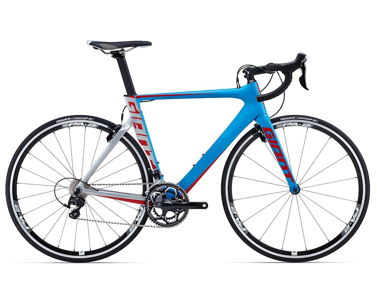 Giant Propel Advanced 2 Carbon Aero Road Bike (2015) (Blue/Silver/Red)