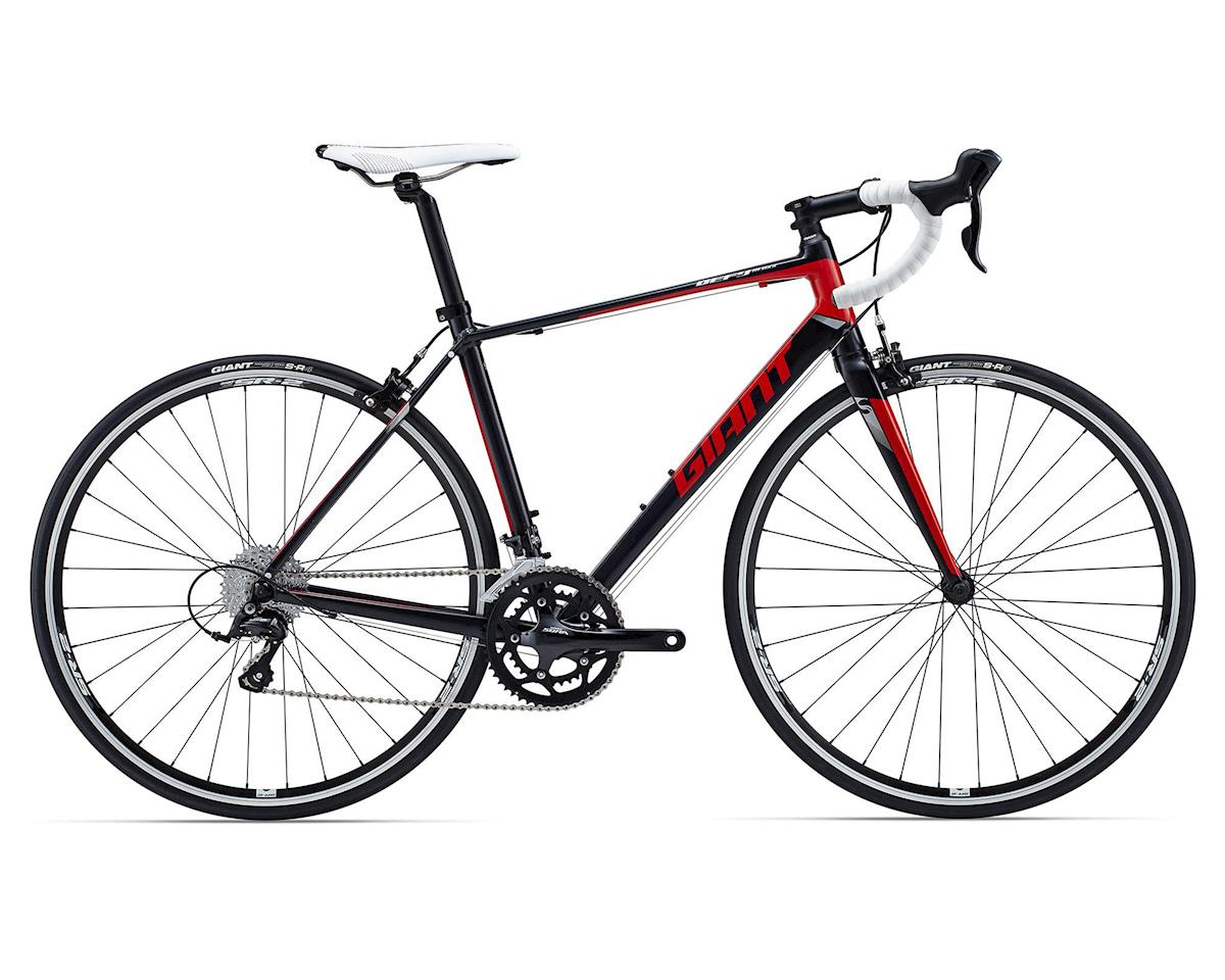 Giant Defy 3 Road Bike (2015) (Black/Red/Silver)