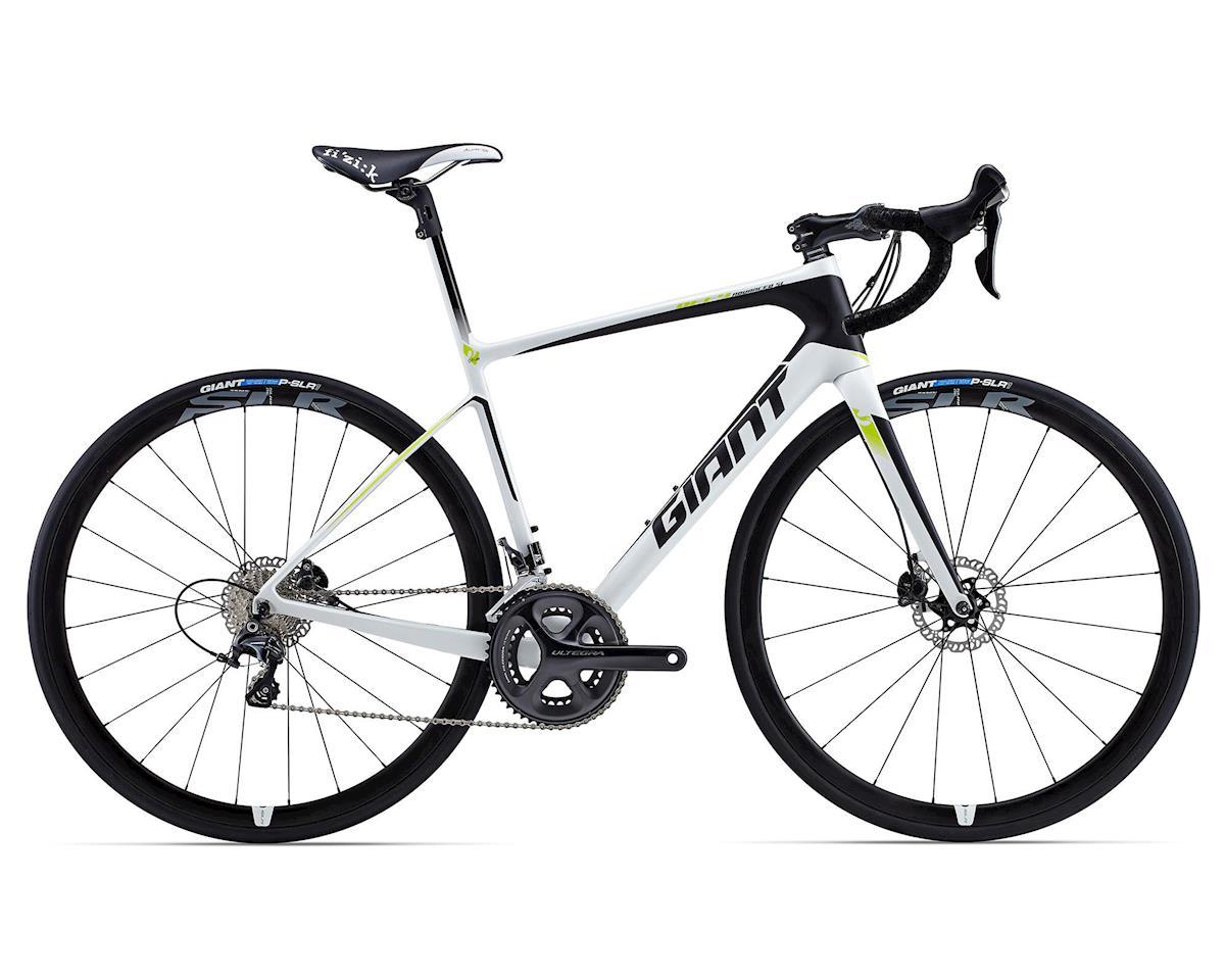 Giant Defy Advanced SL 1 Carbon Road Bike (2015) (White/Black/Green)