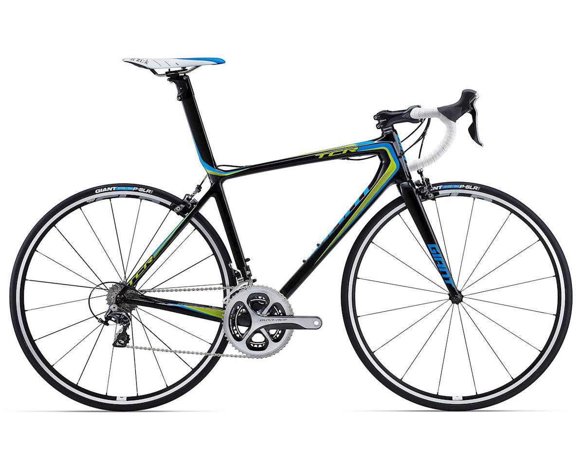 Giant TCR Advanced SL 1 Carbon Road Bike (2015) (Composite/Blue/Green)