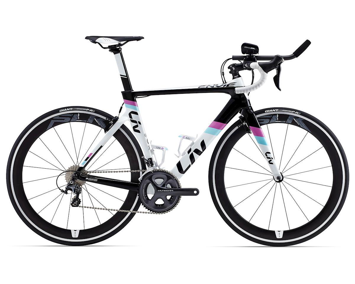 Giant Envie Advanced Tri Women's Triathlon Bike (2015) (White/Black)  [50006213-P]