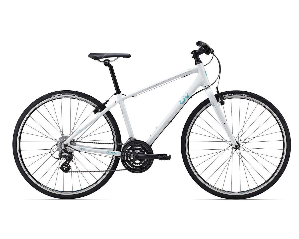 Giant Alight 2 Women's Commuter Bike (2015) (White/Green)