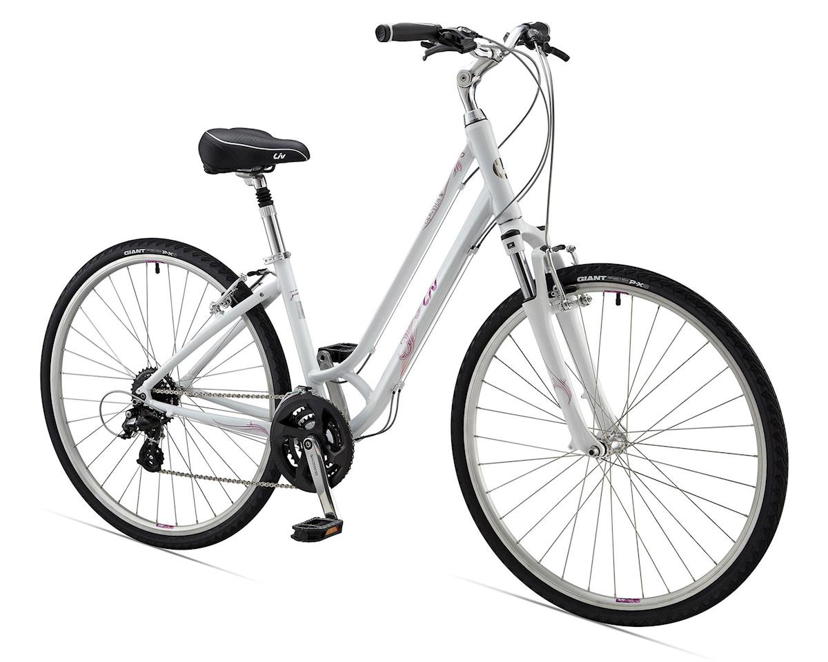 Giant Cypress DX W Women's Commuter Bike (2015) (White)