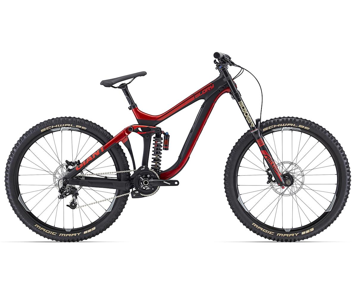 Giant Glory Advanced 27.5 1 Carbon Full Suspension Mountain Bike (2015) (Composite/Red)