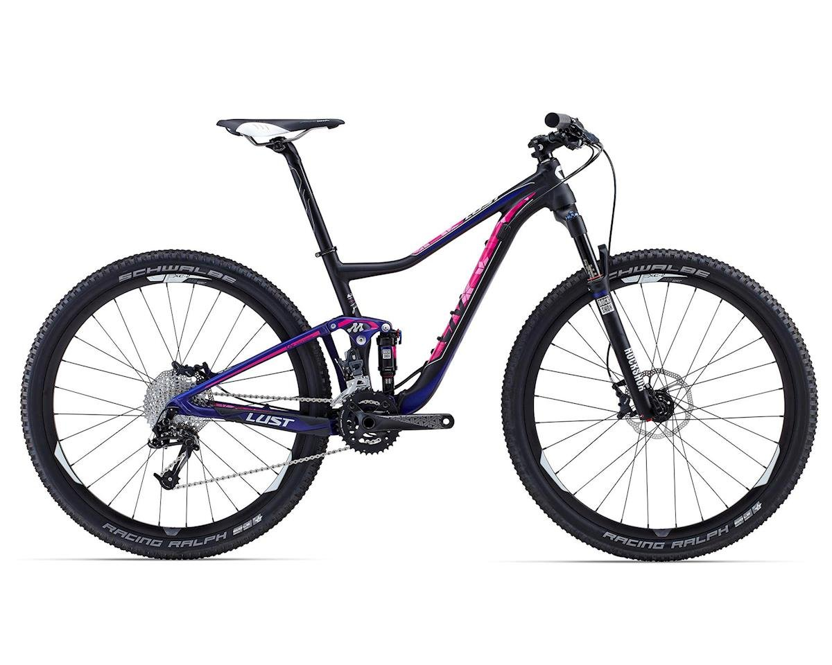 Giant Lust 1 Women's Full Suspension Mountain Bike (2015) (Black/Purple)