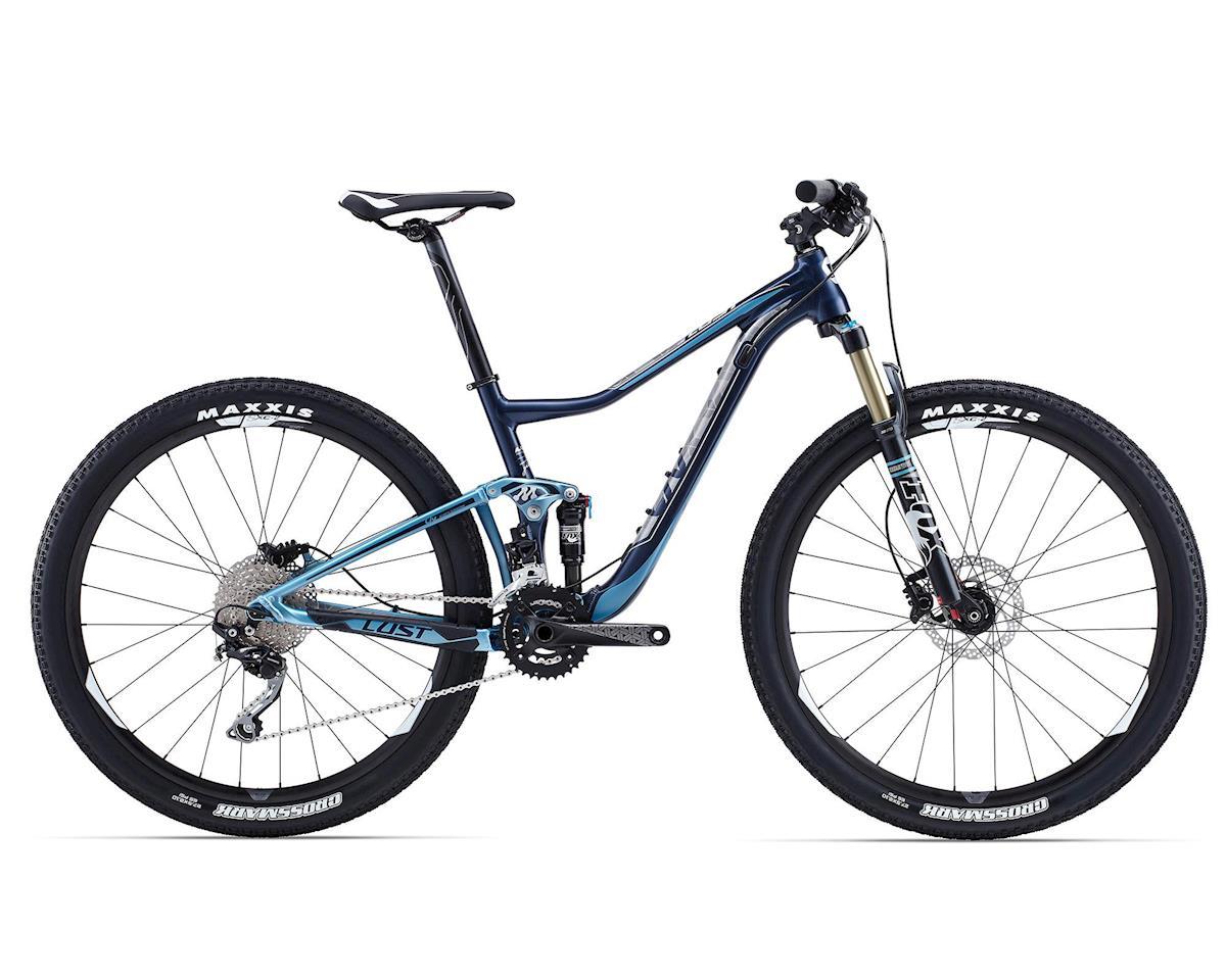 Giant Lust 2 Women's Full Suspension Mountain Bike (2015) (Deep Blue/Light Blue)