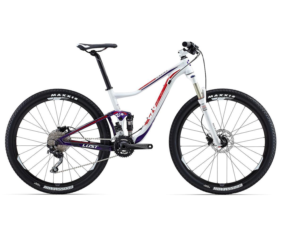 Giant Lust 3 Women's Full Suspension Mountain Bike (2015) (White/Purple)