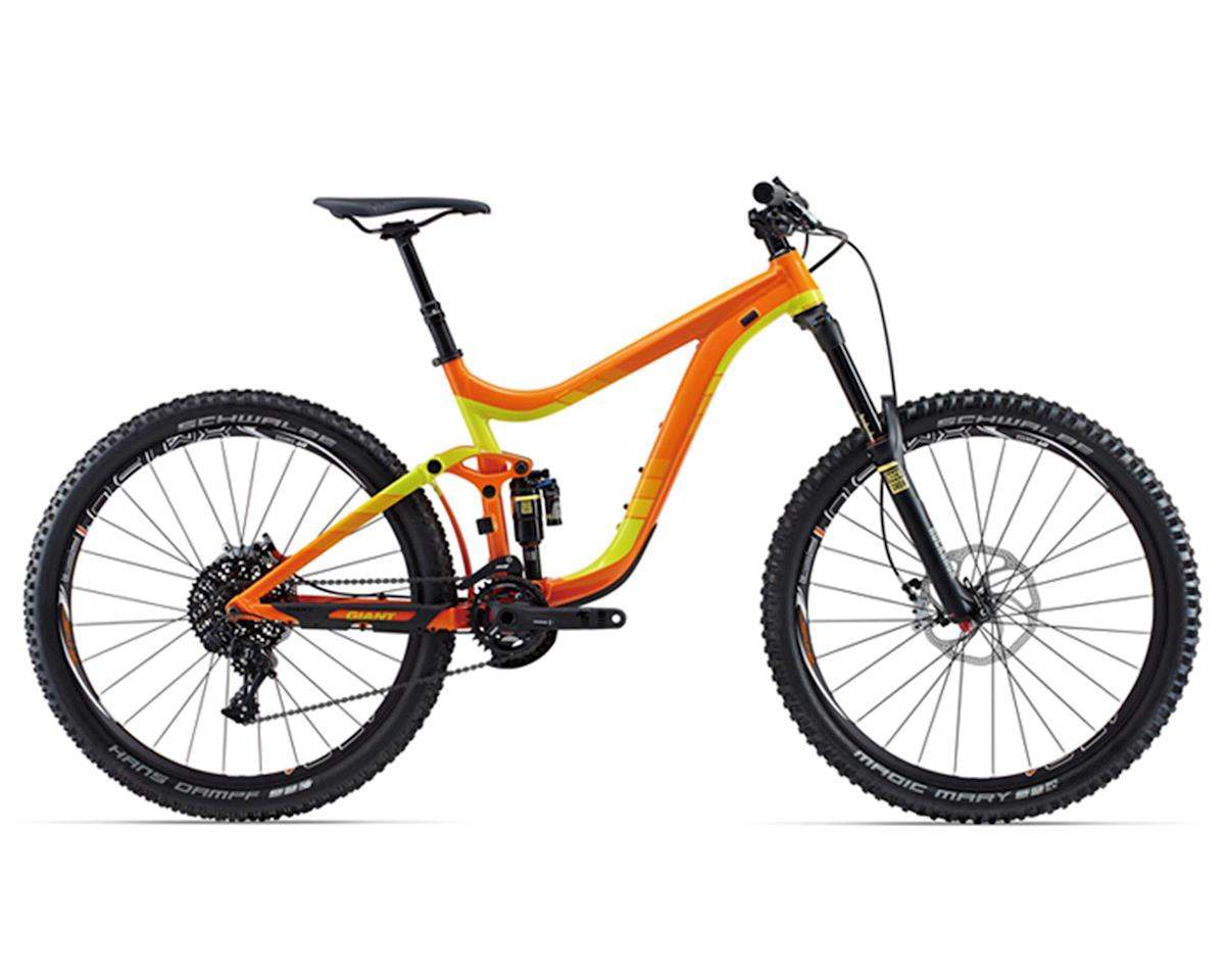Giant Reign 27.5 1 Full Suspension Mountain Bike (2015) (Orange/Yellow)
