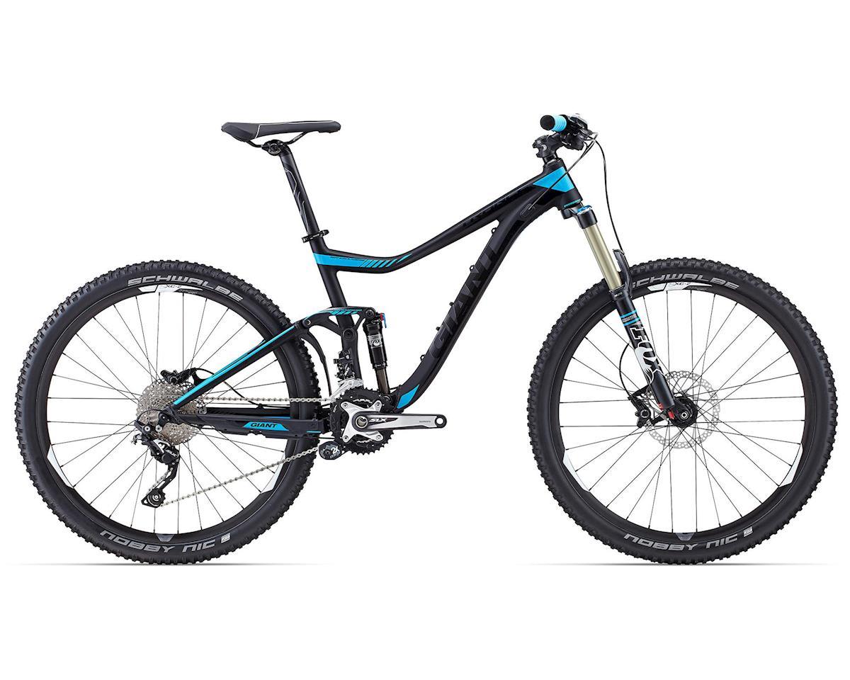 Giant Trance 27 5 2 Full Suspension Mountain Bike (2015) (Black/Blue)  [50033816-P] | Bikes & Frames