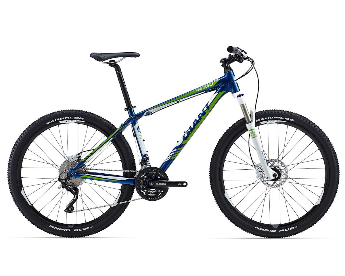 Giant Talon 27.5 1 Hardtail Mountain Bike (2015) (Metallic Blue/Green)