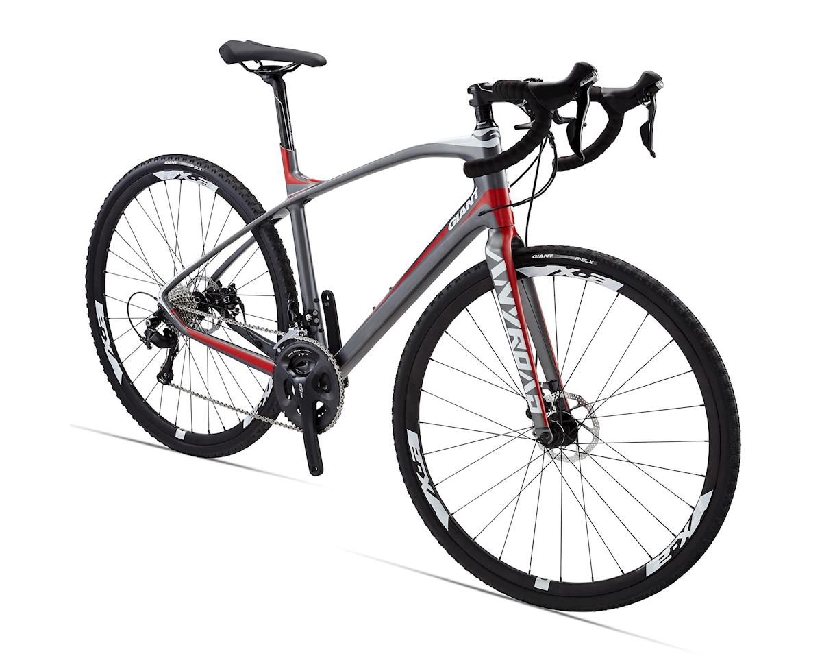 Giant AnyRoad CoMax Carbon Adventure Bike (2015) (Charcoal/Red)