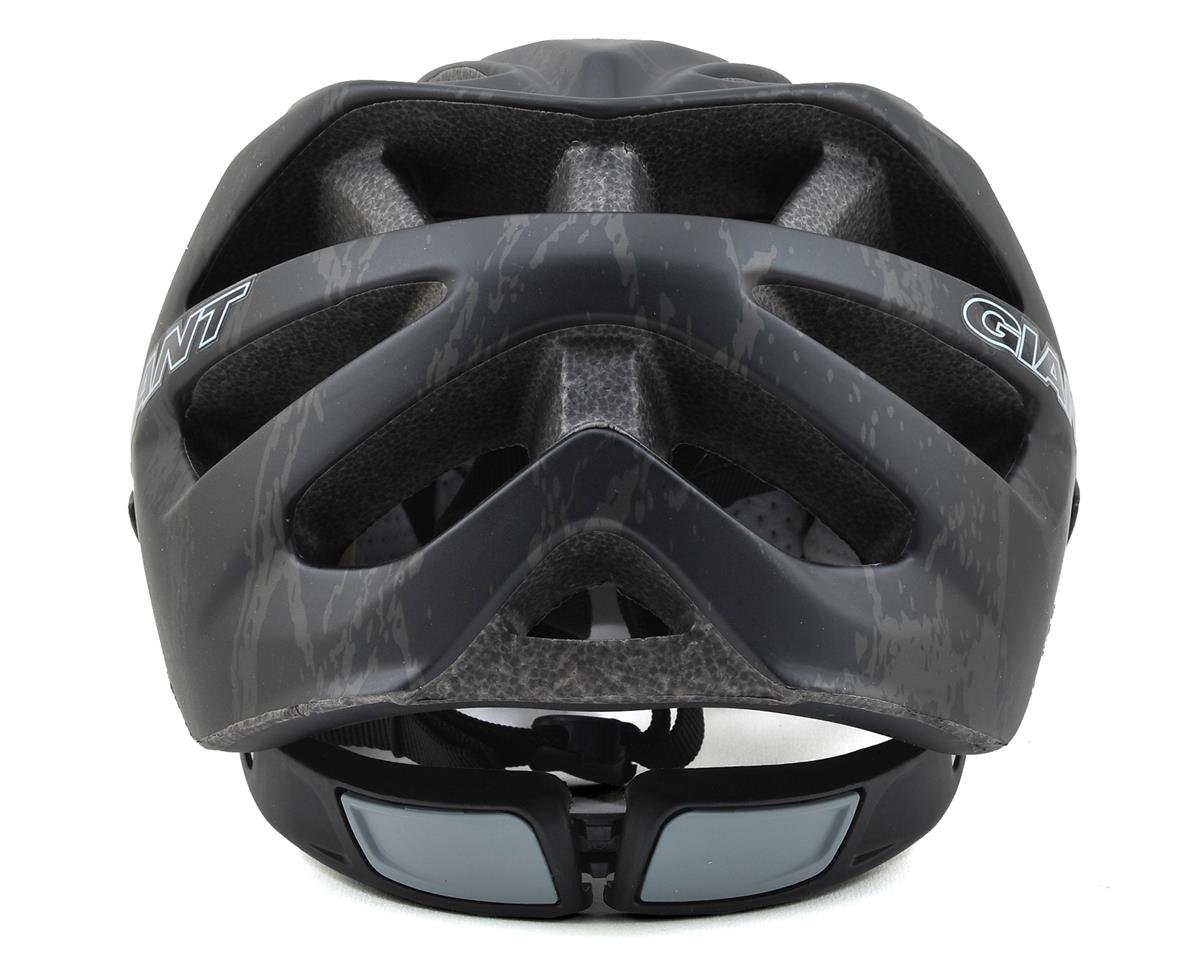 Giant Realm Helmet (Matte Black Brick Pattern) (S)