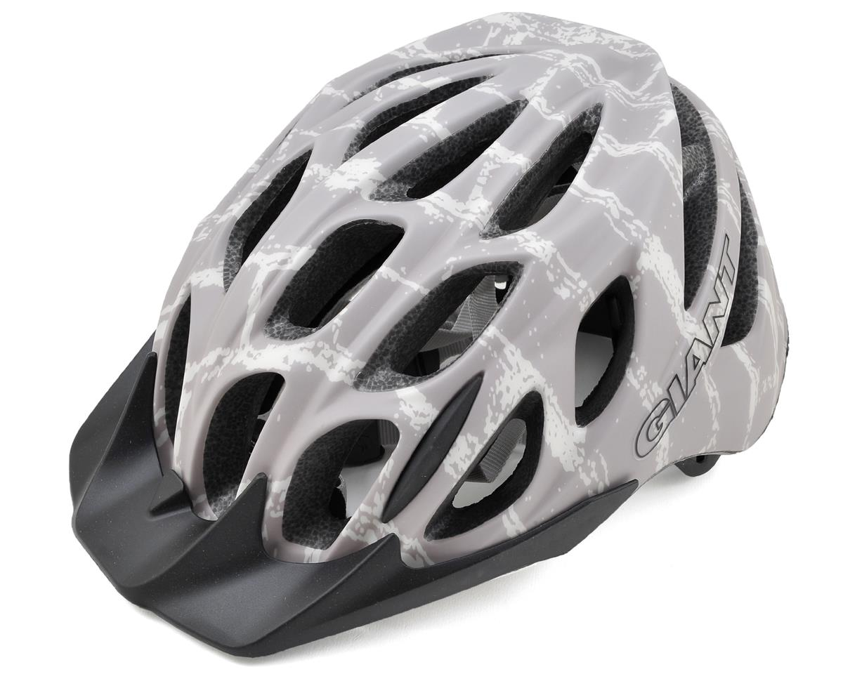 Giant Realm Helmet (Matte Gray Brick Pattern) (M)