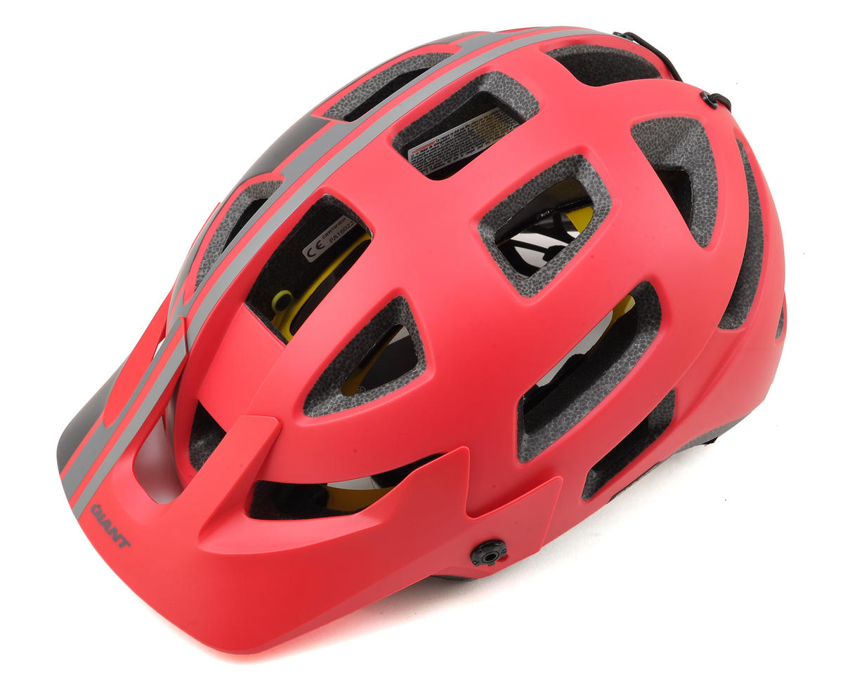 Giant Rail MTB Helmet MIPS (Red/Black) (M)