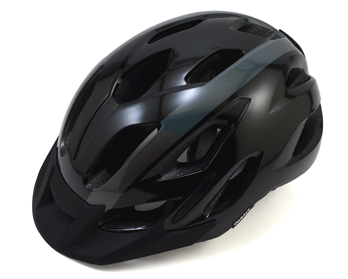 Giant Compel Cycling Helmet (Black/Metallic) (M/L)