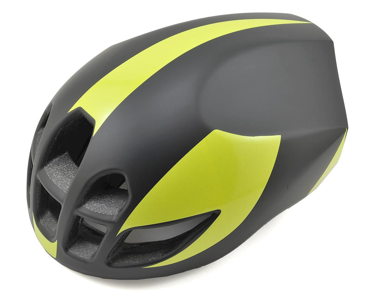 Giant Pursuit Aero-Road Helmet (Black/Lime) (M)
