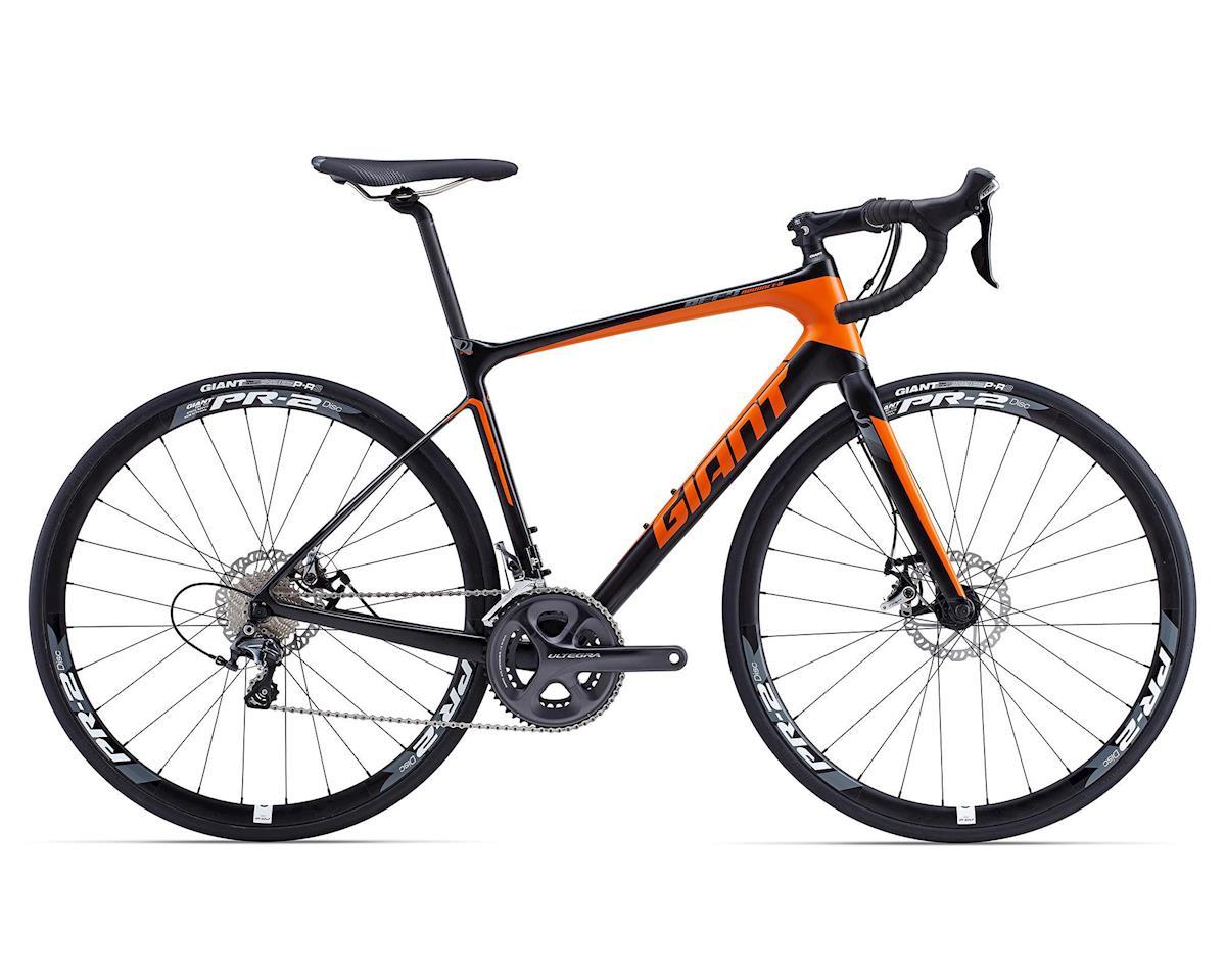 Giant Defy Advanced 1 Carbon Road Bike (2015) (Composite/Orange/Silver)