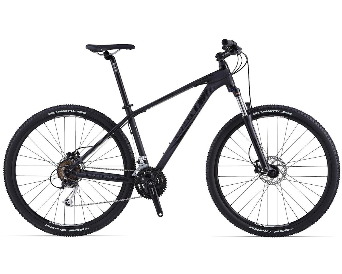 Giant Talon 29er Hardtail Mountain Bike (2015) (Matte Black/Gloss Black)