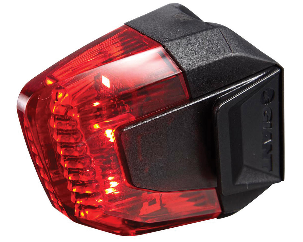 Giant Numen Aero 3-LED Bike Tail Light (Black/Red)