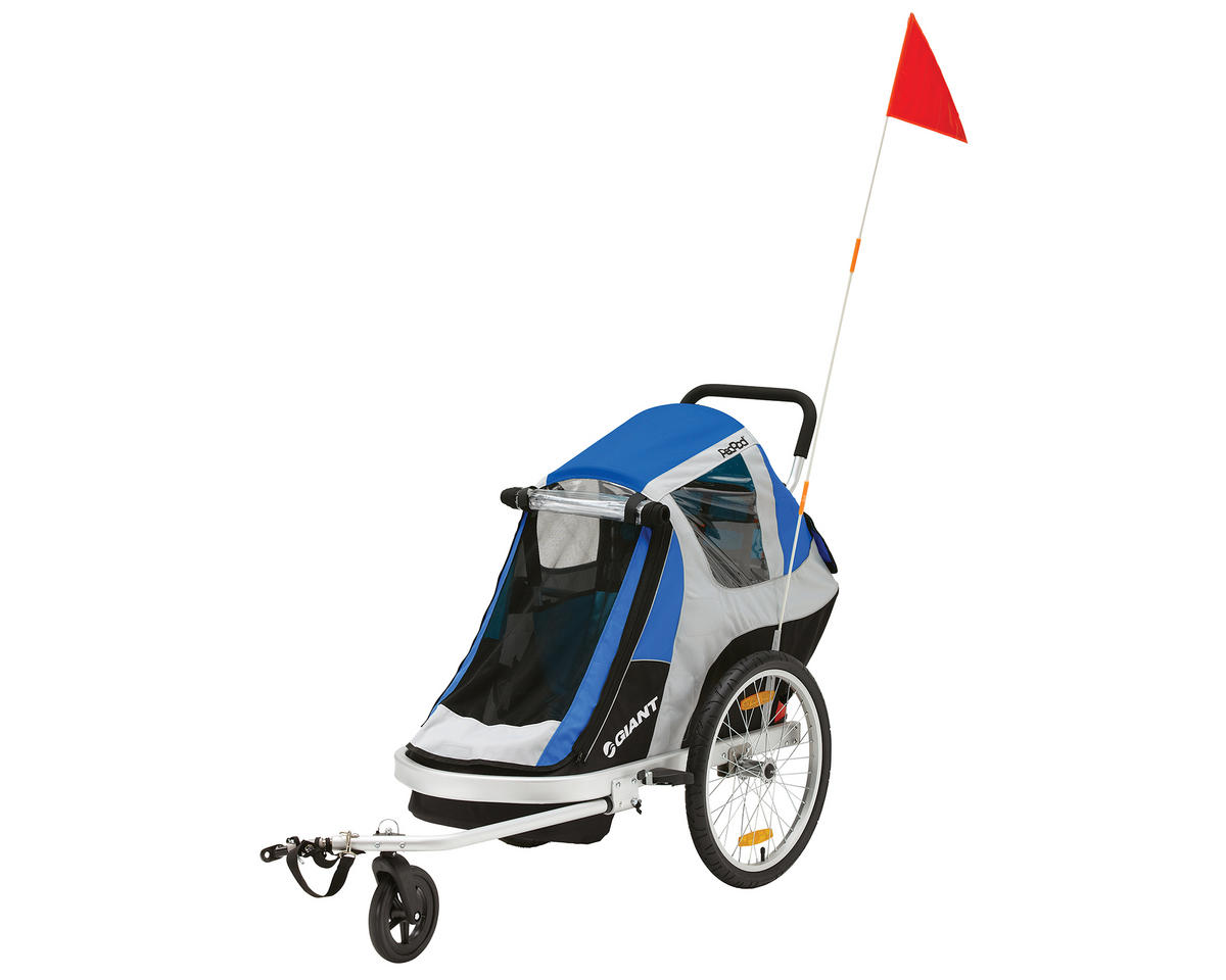 Giant PeaPod Solo Child Bike Trailer (Blue)