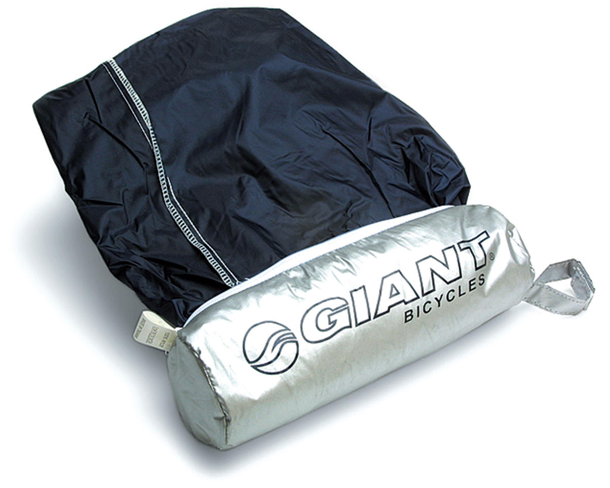 Giant Logo Bike Cover w/Bag (Silver)