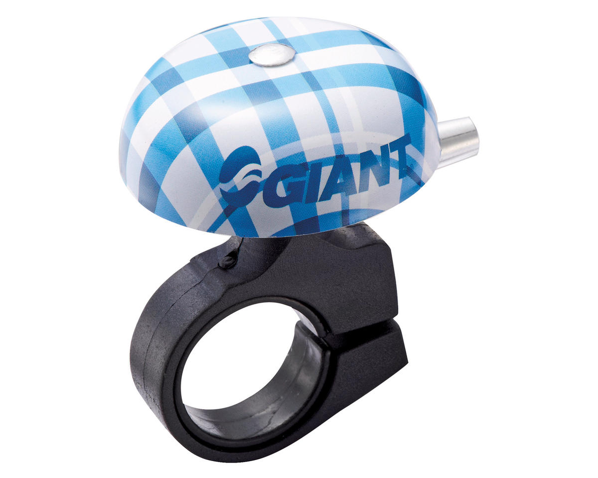 Giant Cruiser Bike Bell (21-26mm) (Plaid Blue)