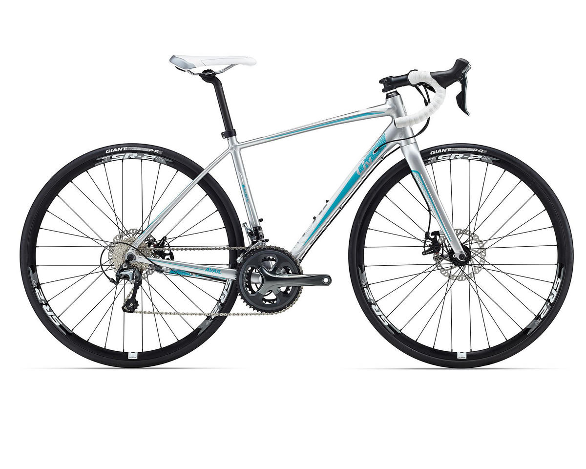 Liv/Giant Avail 2 Disc Women's Road Bike (2016) (Silver/Teal)