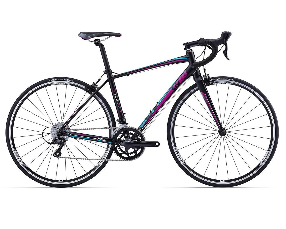 Liv/Giant Avail 3 Women's Road Bike (2016) (Satin Black/Teal/Purple)