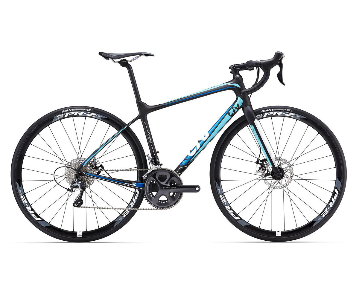 Liv/Giant Avail Advanced 1 Women's Road Bike (2016) (Composite/Turquoise)