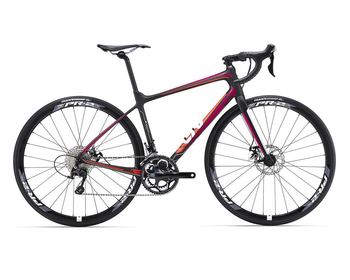 Liv/Giant Avail Advanced 2 Women's Road Bike (Composite/Fuchsia/Orange)