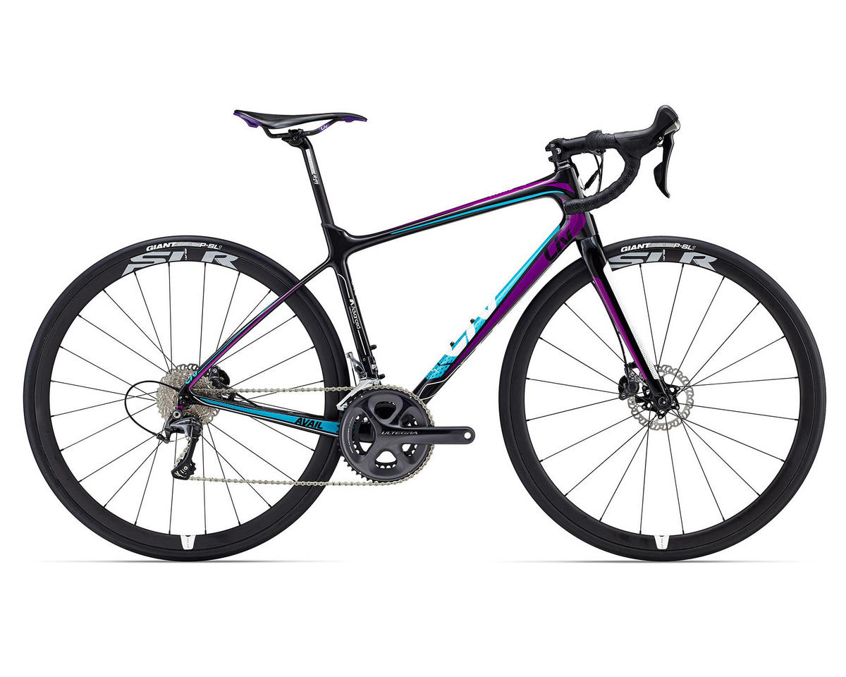 Liv/Giant Avail Advanced Pro Women's Road Bike (2016) (Composite/Turquoise/Purple)