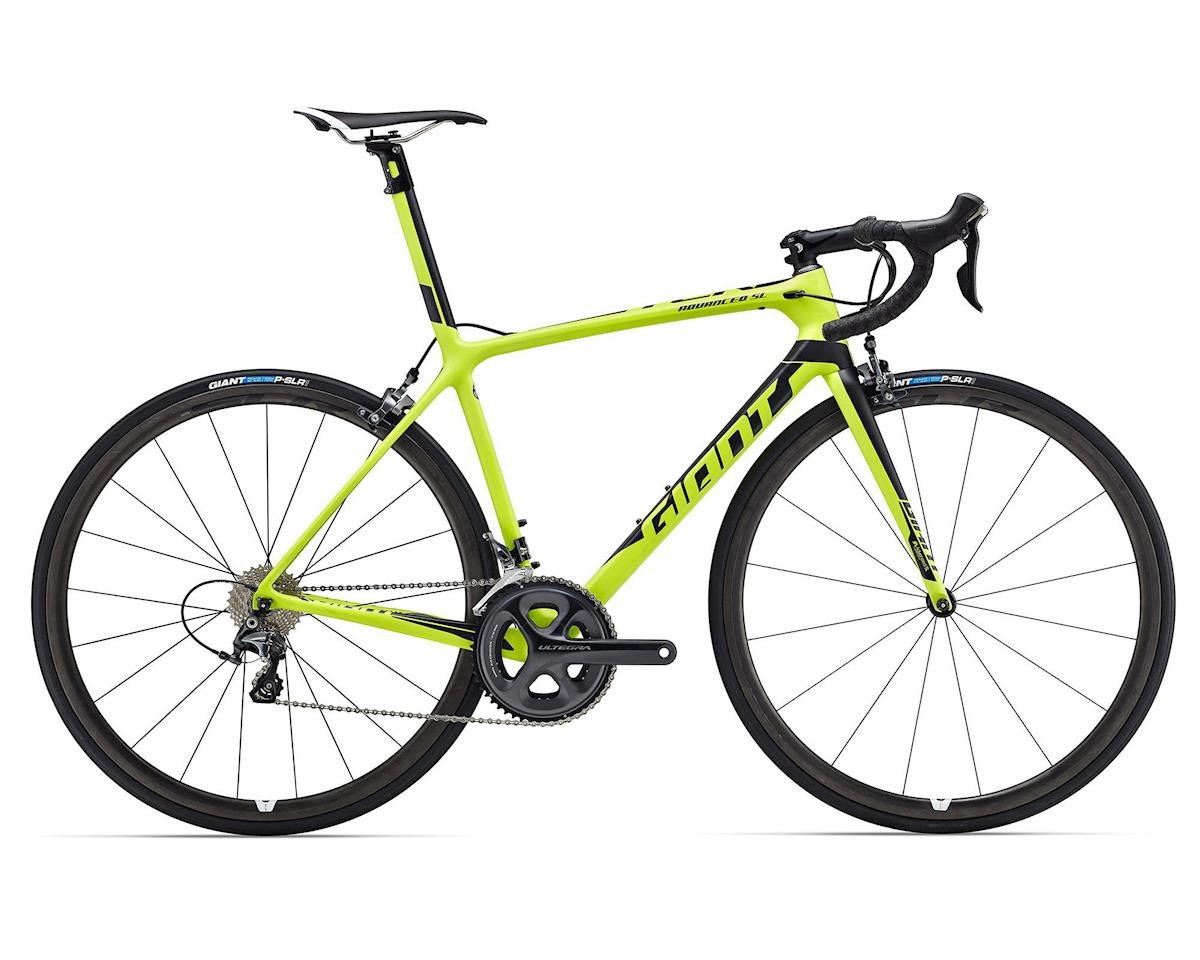 Giant TCR Advanced SL 2 (2016) (Matte Lime/Black)
