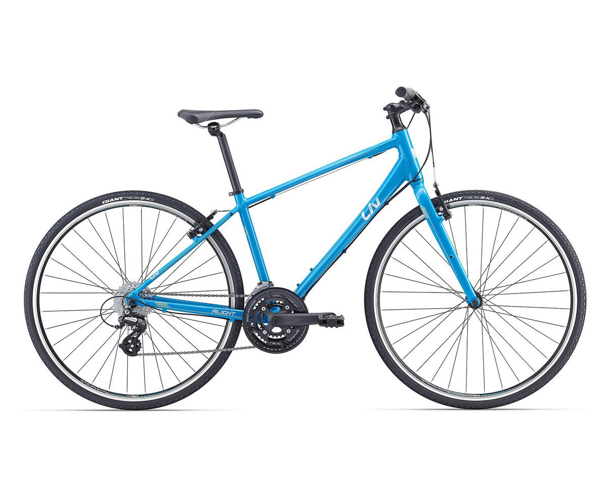 Liv/Giant Alight 2 Women's Town Bike (2016) (Dark Satin Blue)