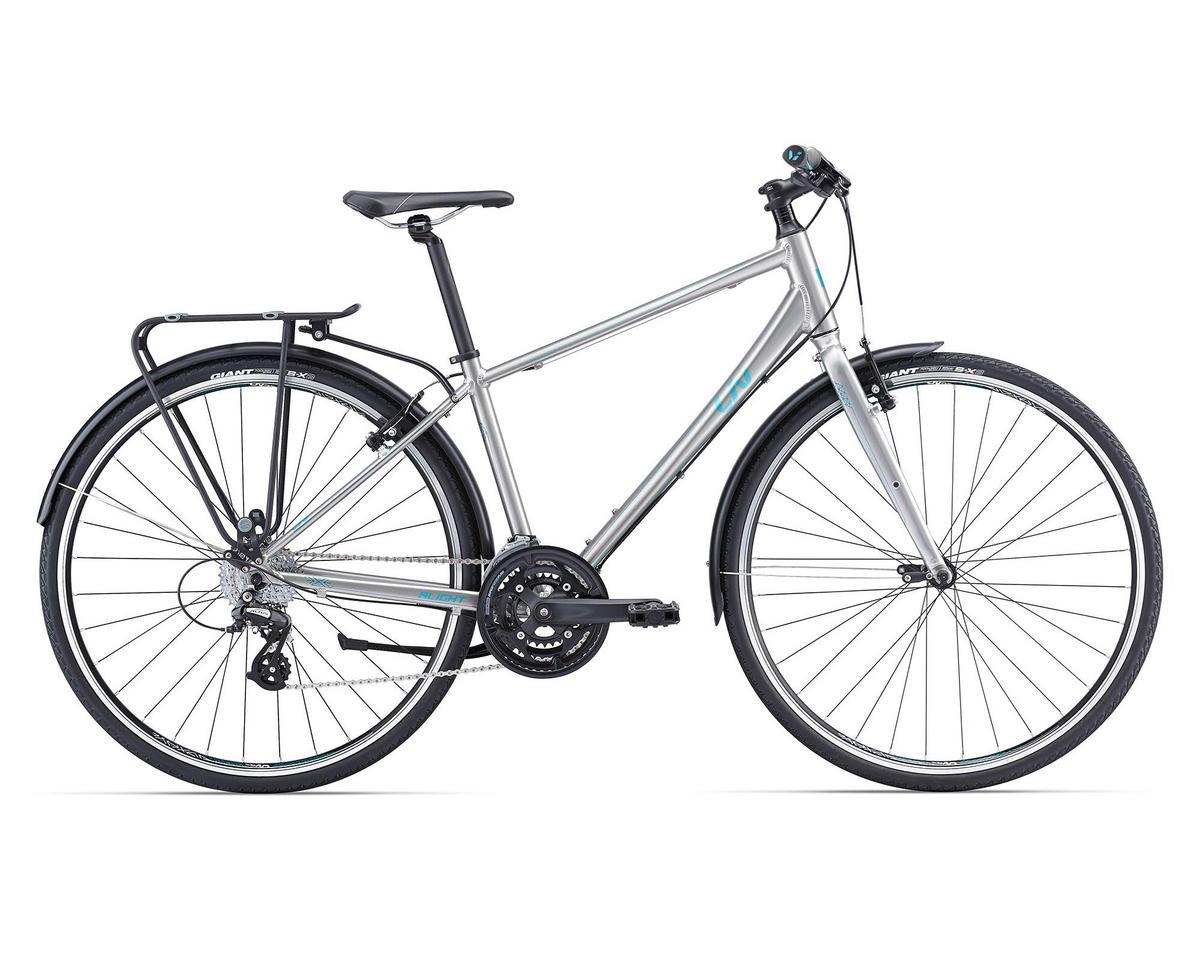 Liv/Giant Alight City Women's Town Bike (2016) (Silver/Green)