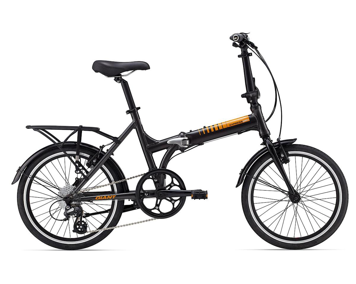 Giant ExpressWay 1 Folding Bicycle (2016) (Grey/Orange)
