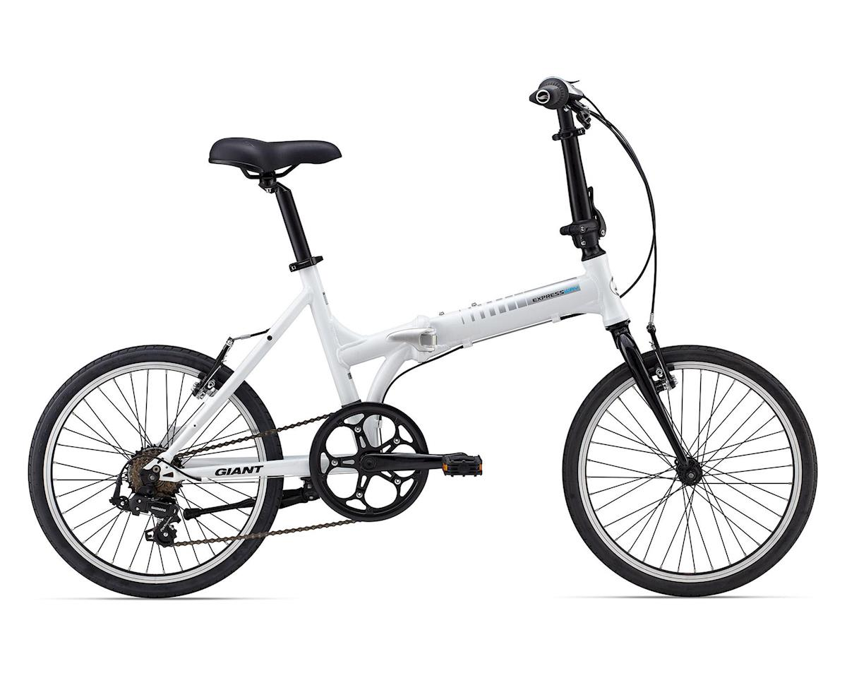 Giant ExpressWay 2 Folding Bicycle (2016) (White/Silver)