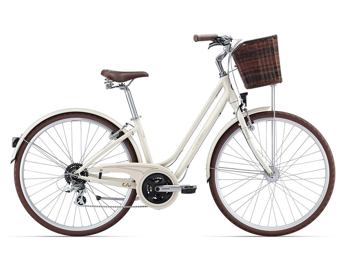 Liv/Giant Flourish 2 Women's Town Bike (2016) (Cream)
