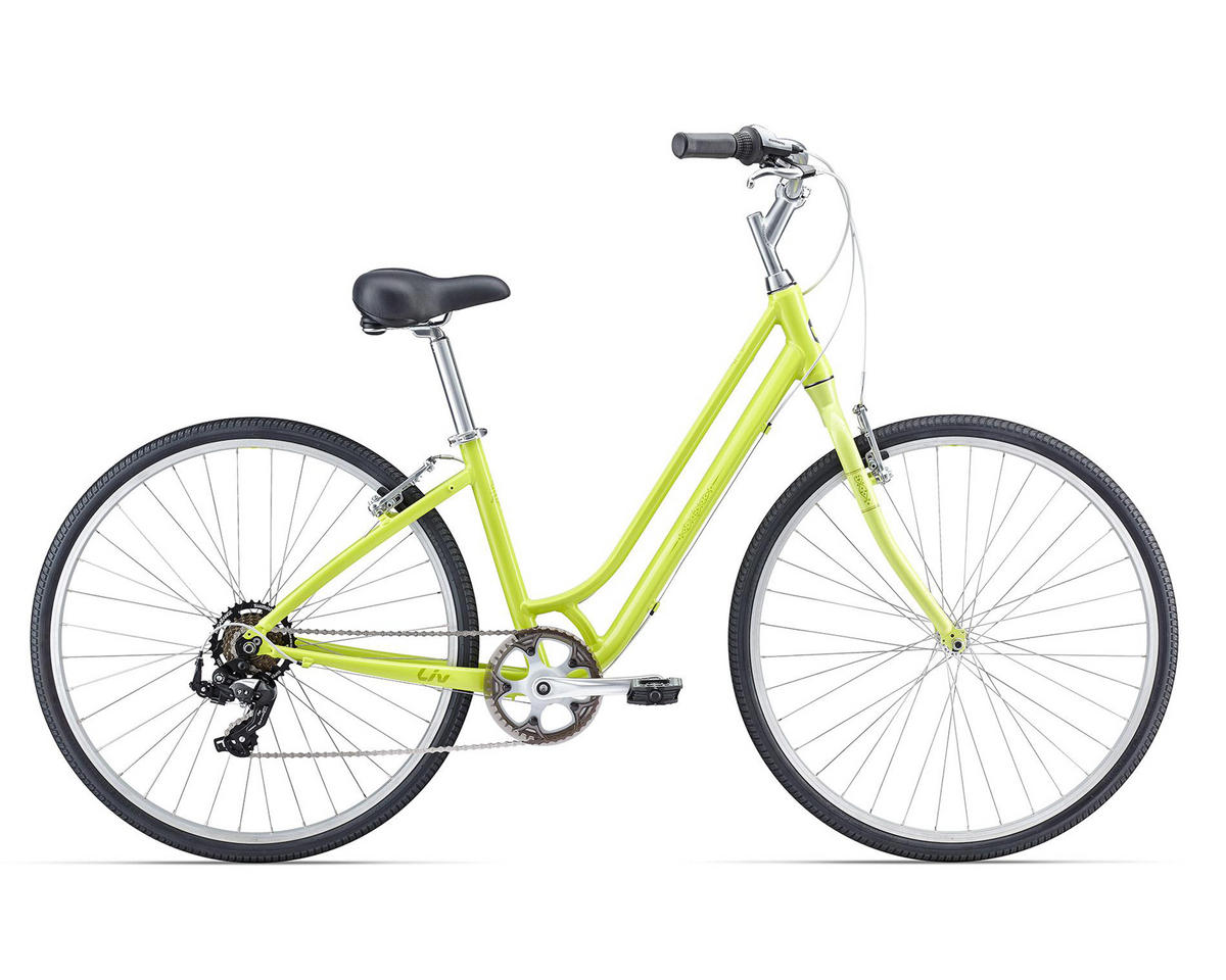 Liv/Giant Flourish 4 Women's Town Bike (2016) (Lime)