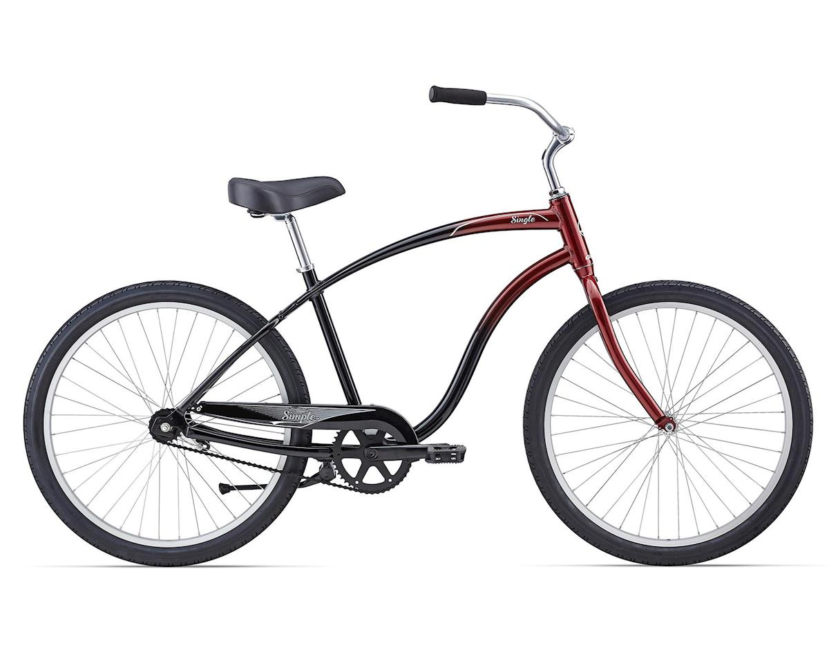 Giant Simple Single Cruiser (2016) (Burgundy/Black Fade)