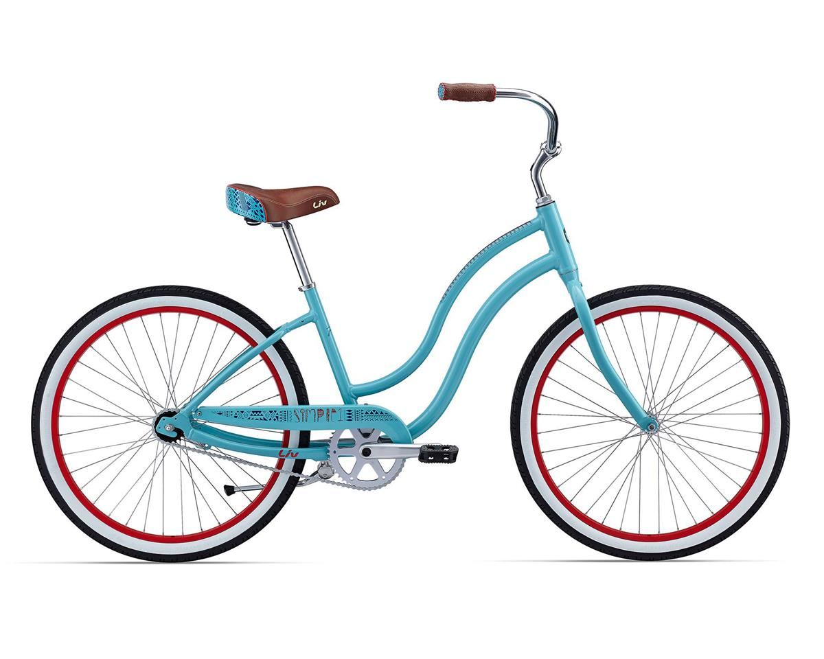Liv/Giant Simple Single Women's Cruiser (2016) (Teal/Coral)