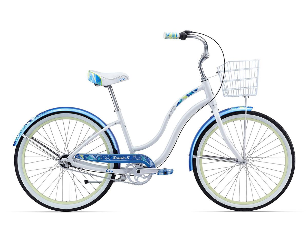 Liv/Giant Simple Three Women's Cruiser (2016) (White/Blue)
