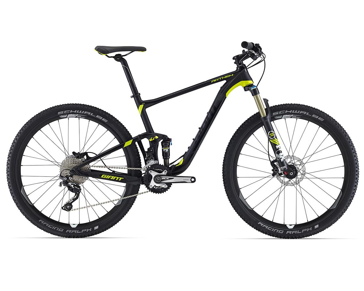 Giant Anthem 27.5 2 (2016) (Matte Black/Charcoal/Yellow)
