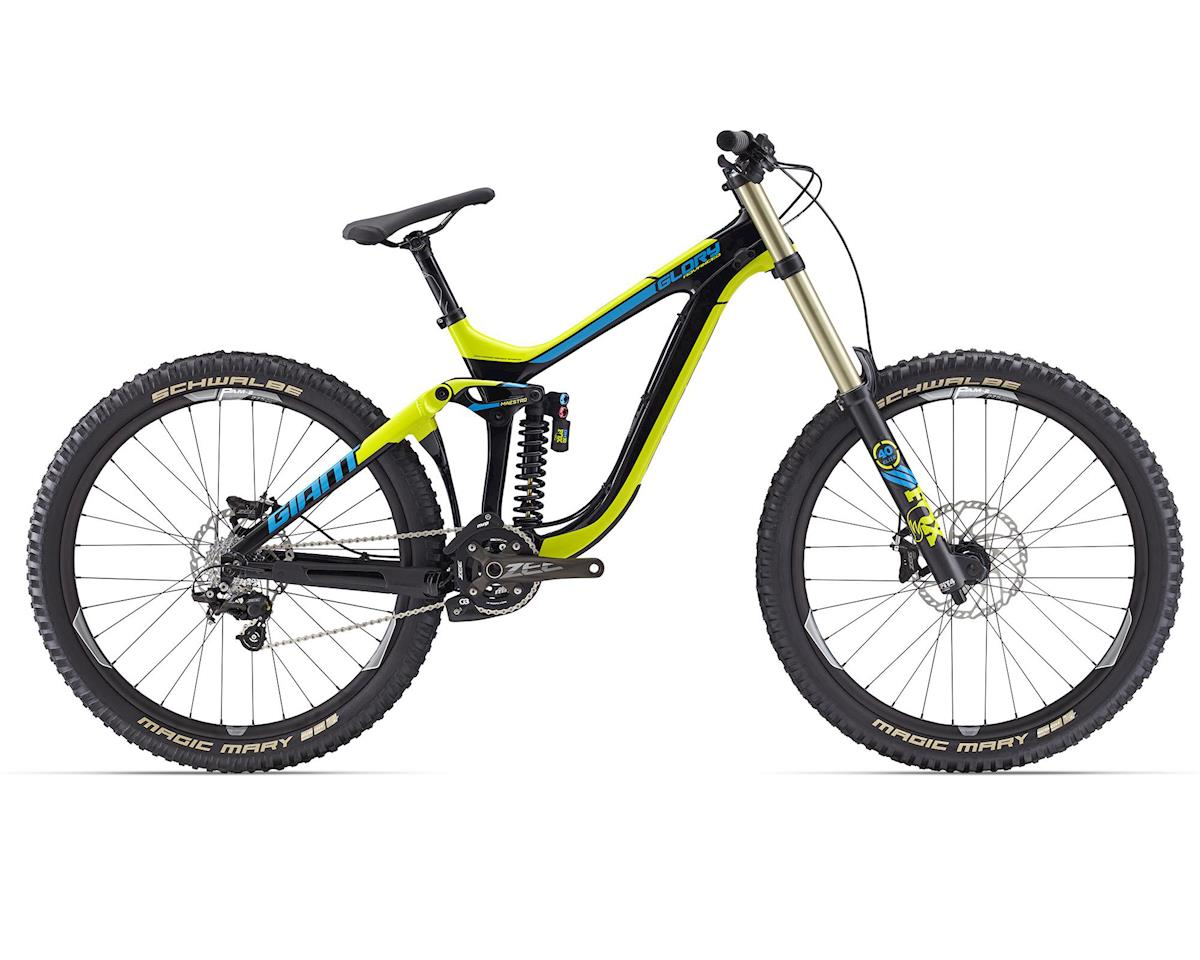 Giant Glory Advanced 27.5 1 DH MTB (2016) (Composite/Yellow/Blue)