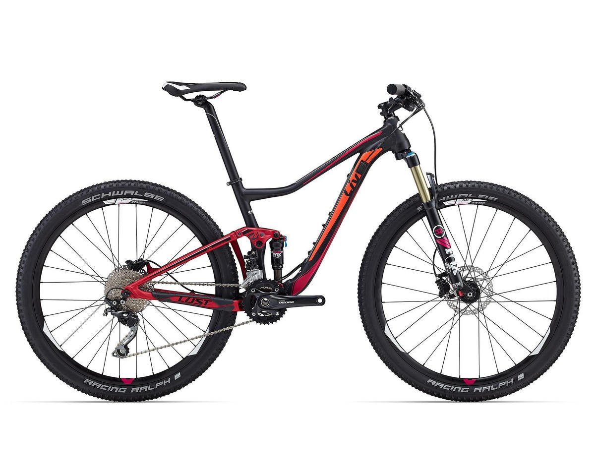 Liv/Giant Lust 2 Women's MTB (2016) (Black/Pink/Orange)