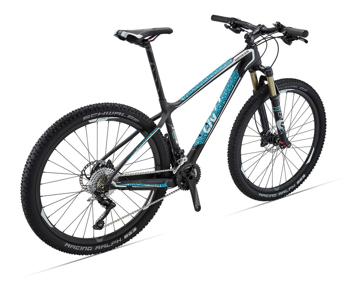 Liv/Giant Obsess Advanced 2 Women's Hard Tail MTB (2106) (Composite/Teal/Coral)