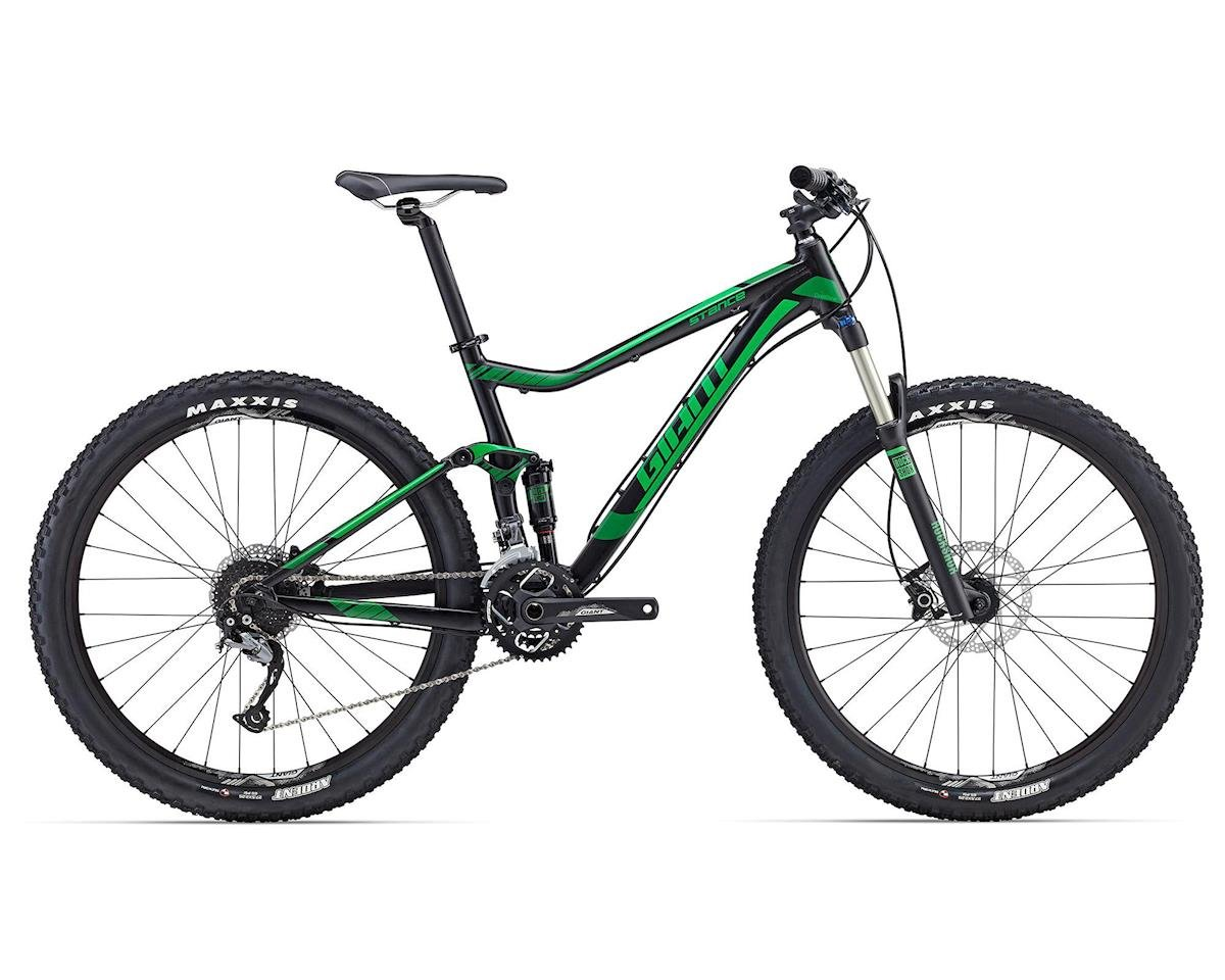 Giant Stance 27.5 2 MTB (2016) (Black/Green)